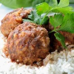Zesty Porcupine Meatballs recipe