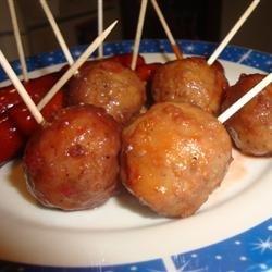 Cocktail Meatballs I recipe