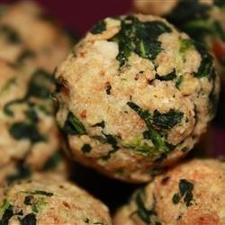 Parmesan Spinach Balls recipe