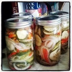 Bread and Butter Pickles II recipe