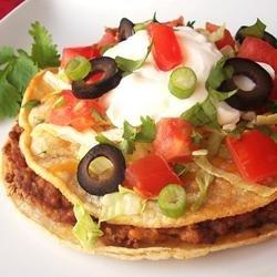 Mexican Pizza I recipe