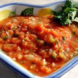 Roasted Tomato Salsa I recipe