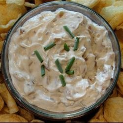French Onion Dip From Scratch recipe