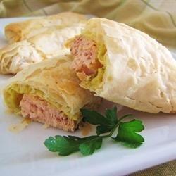Wrapped Salmon recipe