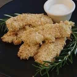 Sesame Chicken Strips with Sweet Sauce recipe