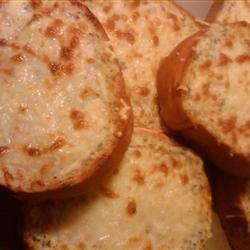 The Most Incredible Garlic Bread recipe
