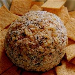 Spinach Cheese Ball recipe