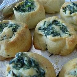 Spinach Pinwheels recipe