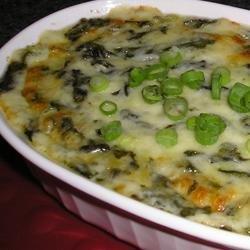 Hot Cheesy Spinach Dip recipe