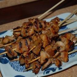 Chicken Satay with Homemade Peanut Sauce recipe
