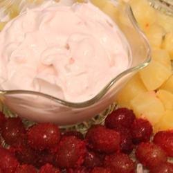 Super Easy Fruit Dip recipe
