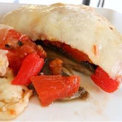 Grilled Portobello and Mozzarella recipe