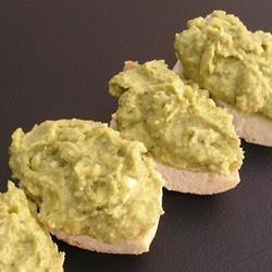 Basil and Pesto Hummus recipe