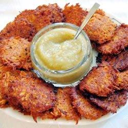 Sweet Potato Latkes recipe