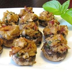 Stuffed Mushrooms Casino recipe