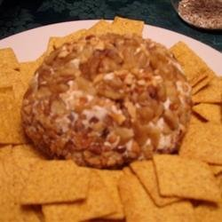 Olive and Blue Cheese Ball recipe