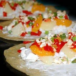 Mandarin Chicken Roll-Ups recipe