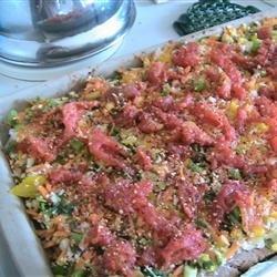 Cool Veggie Pizza recipe