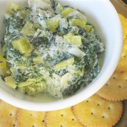 Holiday Hot Spinach Dip recipe