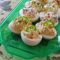 The Devil's Own Deviled Eggs recipe