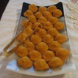 Cheddar Baked Olives recipe