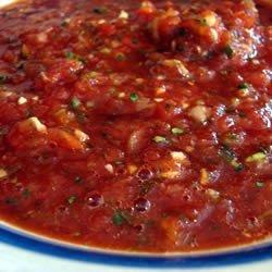 Salsa I recipe