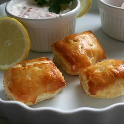 Salmon Puffs recipe