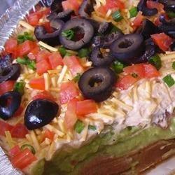California Taco Dip recipe