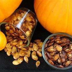 Spiced Maple Pumpkin Seeds recipe