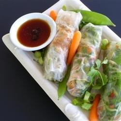 Thai Chicken Spring Rolls recipe
