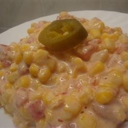 Warm Mexican Corn Dip recipe