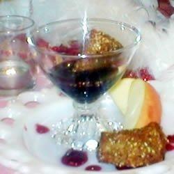 Deep Fried Camembert with Raspberry Sauce recipe