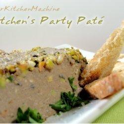 Chicken Liver and Pistachio Nut Pate recipe