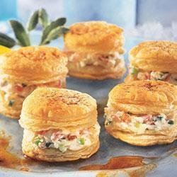 Crab Appetizer Napoleons recipe