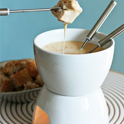 Fondue with Tequila recipe