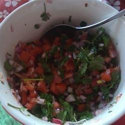 Salvadoran Salsa (Chimol) recipe