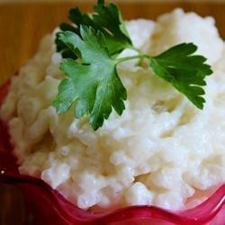 Coconut Tapioca Pudding recipe