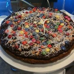 Chocolate Cookie Pizza recipe
