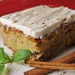 Spicy Apple Cake recipe
