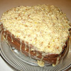 Moist German Chocolate Cake recipe