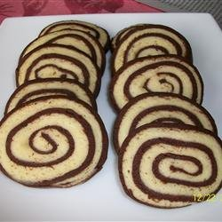 Chocolate Pinwheel Cookies recipe