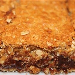 Chocolate Oatmeal Bars recipe
