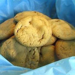Caramel Nougat Bar Peanut Butter Cookies recipe