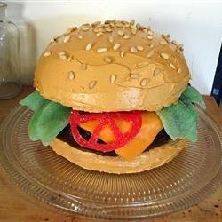 Hamburger Cake recipe