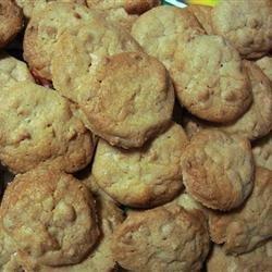 White Chocolate Macadamia Nut Cookies I recipe