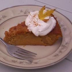 No Crust Pumpkin Pie recipe