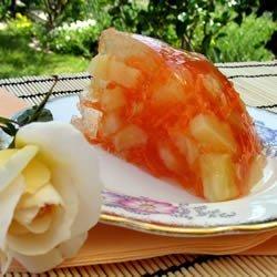 Carrot Gelatin Salad recipe