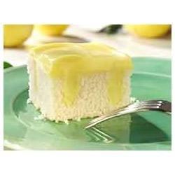 Lemon Pudding Poke Cake recipe