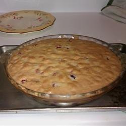 Bar Harbor Cranberry Pie recipe