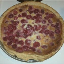 Lemon Blueberry Custard Pie recipe